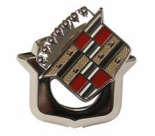 1971-1978 Cadillac Eldorado Fleetwood Trunk Lid Lock Cover Crest Ornament Emblem