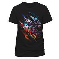 Official Valerian T Shirt Neon Poster NEW Mens Small M XL