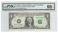 1977A $1 CLEVELAND FRN, PMG GEM UNCIRCULATED 66 EPQ BANKNOTE