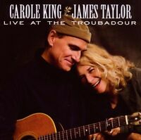 """JAMES TAYLOR & CAROLE KING """"LIVE AT THE..."""" CD+DVD"""