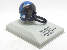CASCO PILOTA BLU IN METALLO PILOT HELMET HGU 55-P PATROUILLE SUISSE ARMOUR 6005