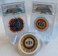 🔥Lot Bit Coin Collector Pack - Moonbits, Sat ori, BTCC Funded .001 - Casascius