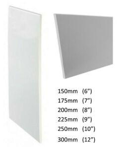 1m / 1.25m UPVC White General Purpose Board / Flat Board 9mm Soffit Fascia