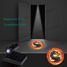 Wireless Mortal Kombat Dragon Logo Home Door Projector Laser Ghost Shadow Lights