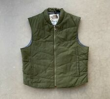 Vintage National Parks Service Uniform Green The North Face Vest Made in USA XL