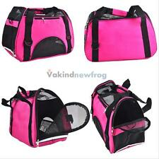 Pet Carrier Soft Sided Cat / Dog Comfort Shoulder Bag Tote Cage Travel Approved