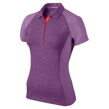 Nike GOLF Women's Luxe Raglan Polo 64033-510 SIZE MEDIUM NEW MSRP $75 VIOLET