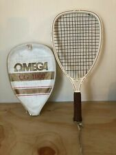 Vintage Omega Cg 1000 Ceramic Graphite Racquetball Racquet