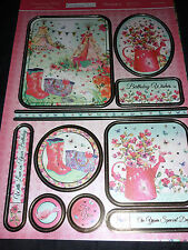 Hunkydory Adorable Mesurables Sunny Jours Topper-Cartes-Inserts-Enveloppes