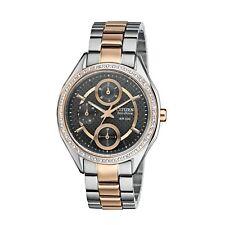Citizen Eco-Drive Women's FD1066-59H Swarovski® Rose Gold-Tone Band 34mm Watch