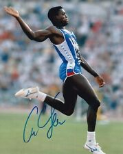 CARL LEWIS Signed Autographed Photo