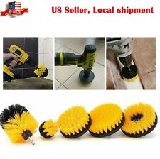 Drill Brush Power Brush Scrubber Cleaning Kit Attachments 5 Pieces All Purpose