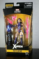 PSYLOCKE XMen Marvel Legends 2018 Apocalypse BAF Left Leg Purple Hair NEW SEALED