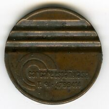 ☆ VINTAGE TOKEN DISC ☆ CAR CARE ESPAÑOLA • BOTH SIDES SAME LEGEND ☆ JETON ☆C3926