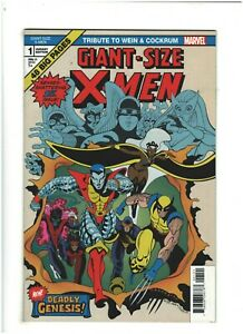 Giant-Size X-Men: Tribute to Wein & Cockrum #1 NM- 9.2 Marvel Comics 2020