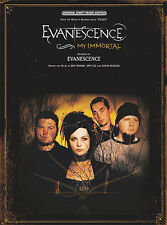 Evanescence My Immortal Learn to Play Pop Piano Vocal & Guitar Music Book