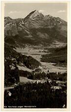 NEUHAUS Bayern 1935 mit Berge Alpen Panorama gegen Wendelstein Fernansicht