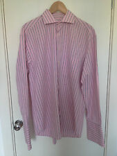 Gant Camisa para hombre pelados Rosa/Azul Tamaño 42/16.5