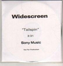 (DB493) Widescreen, Tailspin - DJ CD
