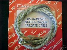 1955 55 56 57 CHEVY CHEVROLET STATION.WAGON TAILGATE CABLE, NEW