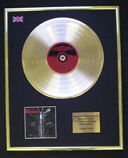 THE GLITTERATI CD GOLD DISC RECORD LP DISPLAY FREE P&P!