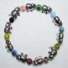 Glass Holiday Beaded Costume Bracelets