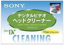 Sony DVM4CLD2 Mini DV Cleaning Cassette Japan New