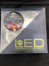Lloytron 200 Superbright Multi-Coloured LED Lights Indoor and Outdoor £1 START!