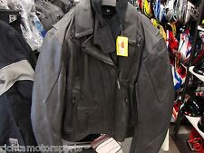 NEW TEKNIC WOMEN'S STURGIS LEATHER JACKET - Black- Size XL ~ 201-207077