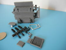 (B32) DINKY TOYS ref 898 transformateur ALSTHOM complet pour BERLIET 6X6