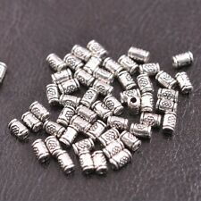 Tibetan Silver/Gold/Bronze tube Charm Spacer Beads for Bracelet E3139