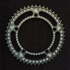 ON SALE! 2014 Drillium Track Chainring, 48t, 130 bcd, Drillium 'Swallow', Black