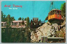 Palm Springs California~Aerial Tramway View~Vintage Postcard