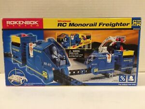 Pre-Owned*Rokenbok System*RC Monorail Freighter*06222*Building*Tested & Working