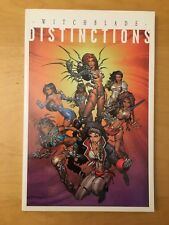 WITCHBLADE DISTINCTIONS TPB, HIGH GRADE - SEE PICS, 1ST PRINT, 2001, TOP COW