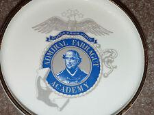 "Rare 7"" ADMIRAL FARRAGUT ACADEMY Collectible Dish Ashtray LOUIS BAIDA Militaria"
