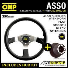 OMP ASSO STEERING WHEEL OD/2019/LN & HUB COMBO VW GOLF MK3 with A-BAG 91-