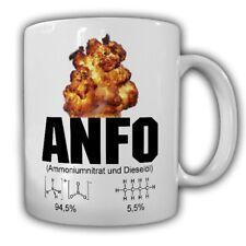 TAZZA Anfo nitrato di ammonio e gasolio roccia esplosivi ANC ano esplosivo #2205