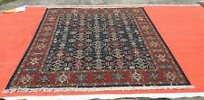 Hand Woven Wool Rug Turkish Kilim Dhurrie Afghan Sumak Oriental Area Rug 8x10 ft