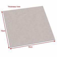 Pure Nickel Ni Metal Thin Sheet Plate High Purity 99.96% 1mm x 100mm x 100mm