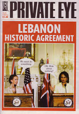 PRIVATE EYE 1164 - 4 - 17 Aug 2006 - Margaret Beckett Condoleezza Rice - LEBANON