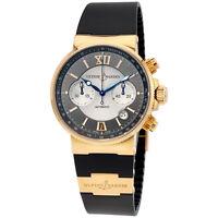 Ulysse Nardin Maxi Marine Chronograph Automatic Mens Watch 356-66-3-319