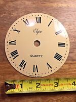 "4 1/16"" ELGIN CLOCK DIAL PAN (Clock Dial Lot D138)"