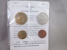 RESTRIKE CIVIL WAR CONFEDERATE COINS CENT HALF DOLLAR GOLD CSA STATES OF AMERICA