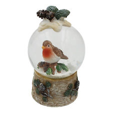 Christmas Robin Mini 45mm Snow Globe Waterball