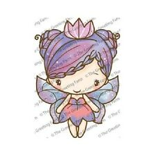 Greeting farm stamp ebay fairy queen anya the greeting farm cling rubber stamp stamping craft retired m4hsunfo