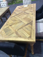Marcia Dining table  - parquetry top - 150 x 85 x 76