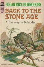 Edgar Rice Burroughs - Back to the Stone Age - Ace Small Paperback - F-245
