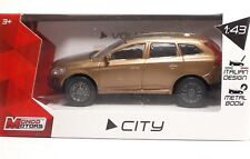 "MondoMotors 53195 VOLVO XC60 ""Met Gold"" - METAL Scala 1:43"