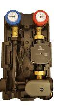 Pumpengruppe Heizkreisstation mit elektronischen 3 Wege Mischer und Grundfos UPM
